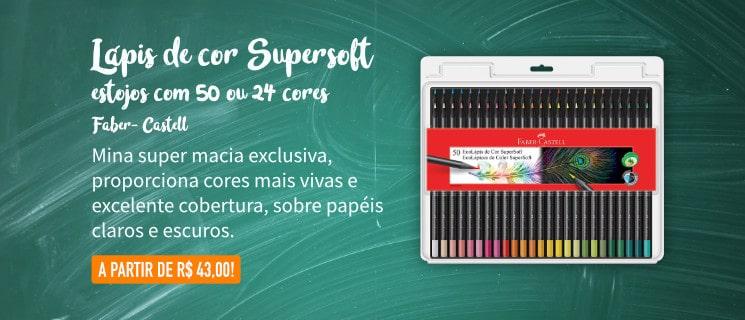 Lápis supersoft