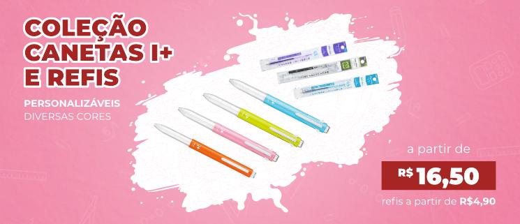 canetas e refis